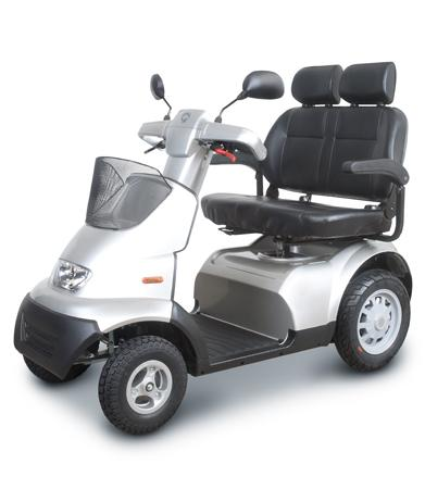 Duo scootmobiel Afikim Breeze S4